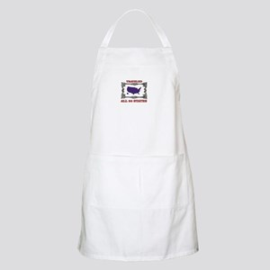 all fifty in blue Light Apron