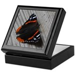 Red Admiral Butterfly Keepsake Box
