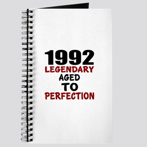 1992 Legendary Aged To Perfection Journal