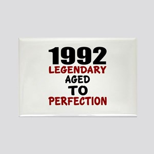 1992 Legendary Aged To Perfection Rectangle Magnet