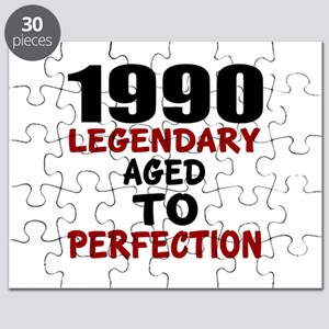 1990 Legendary Aged To Perfection Puzzle