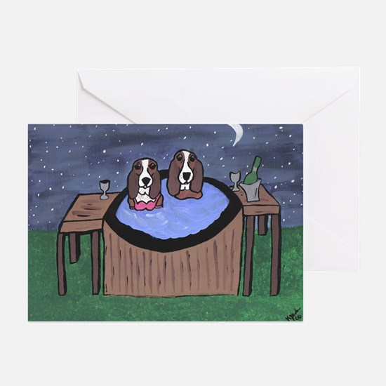 Hot Tubbing Greeting Cards (Pk of 10)