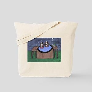 Hot Tubbing Tote Bag