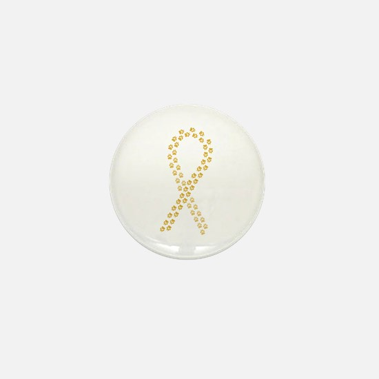 Gold Paws Cure Mini Button