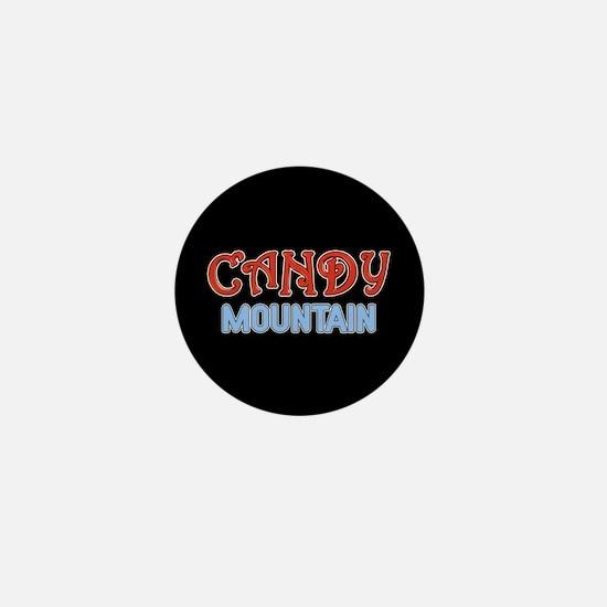 Candy Mountain Mini Button