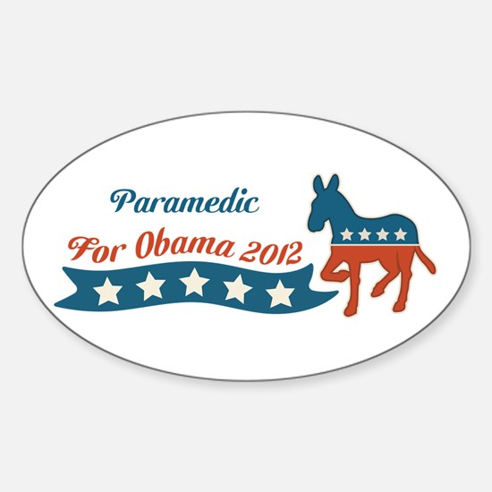 Profession for Obama Sticker (Oval)