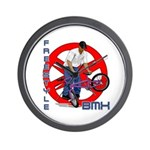 Freestyle BMX Wall Clock