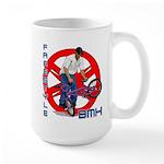 Freestyle BMX Large Mug
