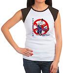 Freestyle BMX Women's Cap Sleeve T-Shirt