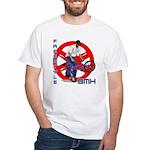 Freestyle BMX White T-Shirt