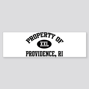 Property of Providence Bumper Sticker