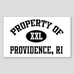 Property of Providence Rectangle Sticker