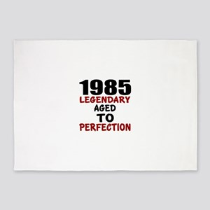 1985 Legendary Aged To Perfection 5'x7'Area Rug