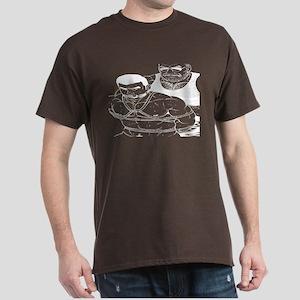 2 men HAVING SOME -FUN -DARK T-Shirt