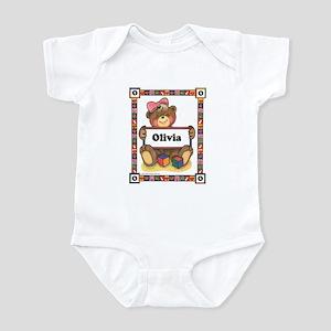 Teddy Bear, Olivia - Infant Creeper