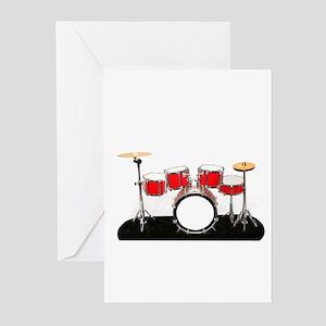Drum Kit Greeting Cards (Pk of 10)