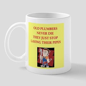 plumbing joke Mug