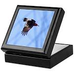 Red-headed Woodpecker Flying Keepsake Box
