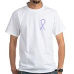 Periwinkle Cure White T-Shirt
