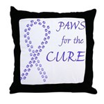 Periwinkle Cure Throw Pillow