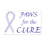 Periwinkle Cure Mini Poster Print