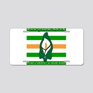 TÁL Easter Lily Aluminum License Plate