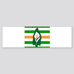 TÁL Easter Lily Sticker (Bumper)