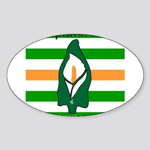 TÁL Easter Lily Sticker (Oval)