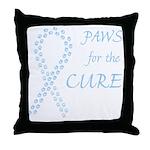 Lt. Blue Cure Throw Pillow