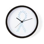 Lt. Blue Cure Wall Clock