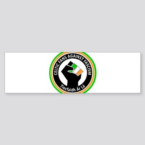 Celtic Fans Against Fascism Sticker (Bumper)
