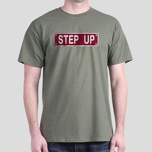 Step Up... Black T-Shirt