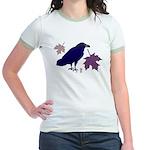 Fall Raven Jr. Ringer T-Shirt