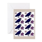 Fall Ravens Greeting Cards (Pk of 10)