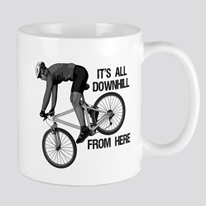 Downhill Mountain Biker Mug