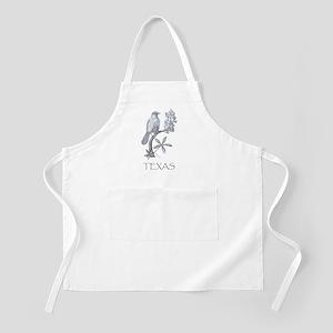 Texas Mockingbird/Bluebonnet Apron