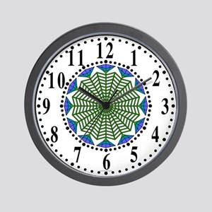 Eclectic Flower 346 Wall Clock