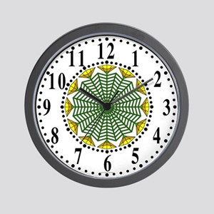 Eclectic Flower 354 Wall Clock