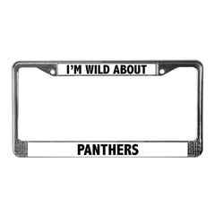 Panthers License Plate Frame