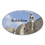 Bethlehem Sticker (Oval 10 pk)