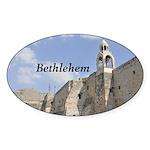 Bethlehem Sticker (Oval)