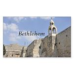 Bethlehem Sticker (Rectangle 50 pk)