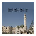 "Bethlehem Square Car Magnet 3"" x 3"""