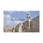 Bethlehem Rectangle Car Magnet