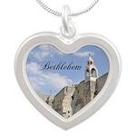 Bethlehem Silver Heart Necklace