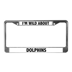 Dolphin License Plate Frame