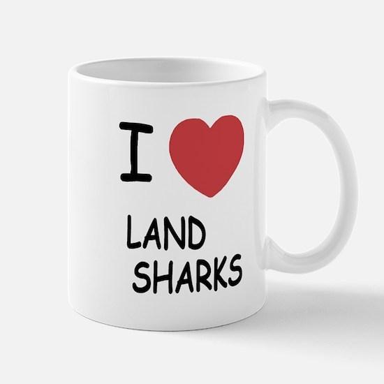 I heart land sharks Mug