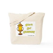 Cremation Grandma Urn Tote Bag