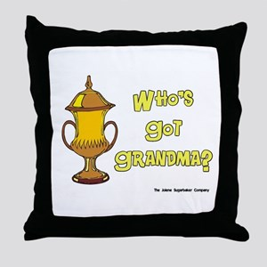 Cremation Grandma Urn Throw Pillow