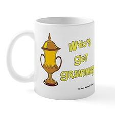 Cremation Grandma Urn Mug